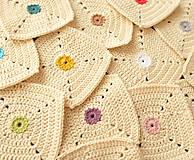 Úžitkový textil - podložky pod poháre - bodky - 9880717_