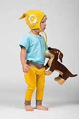 Detské oblečenie - Veselé detské tepláčiky - 9883198_