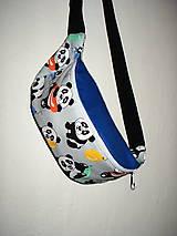 Detské tašky - ľadvinka pandy - 9883473_
