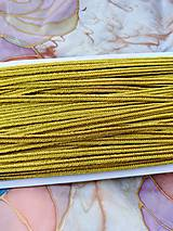 Šutašky - 1 m (Zlatá žltá)