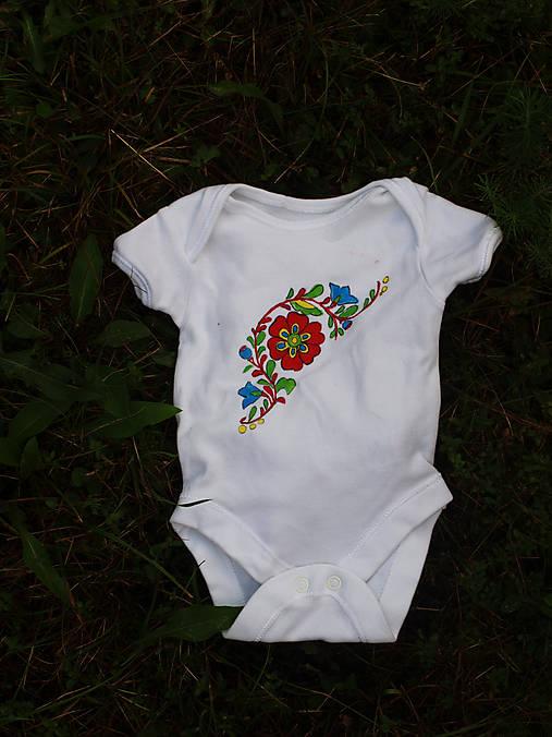 c600b227a Detské body s ľudovým motívom / Jasmina_handmade - SAShE.sk ...