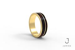 Prstene - žlté zlato - PRIME EBEN - 9882163_