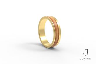 Prstene - žlté zlato - Elegant OLIVA - 9882004_