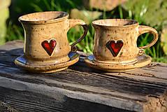 Nádoby - Duo - zafŕkaná láska - 9881661_