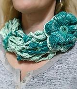 Šály - Green Flower - VÝPREDAJ - 9884842_