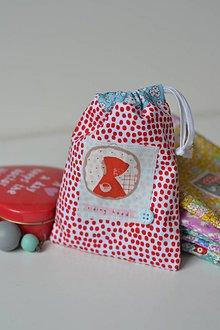 Taštičky - červená čiapočka - 9883867_