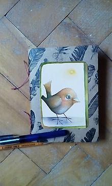 Papiernictvo - Mini zápisník I. - 9884123_