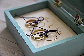 Prstene - Šperkovnička (bez čipky) - 9883876_