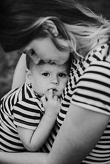 Tričká - Set tričiek mama-dieťa (nekojo verzia) - 9883906_