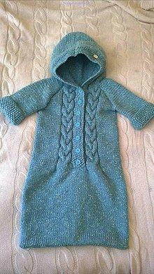 Iné oblečenie - Teplý fusak pre deti do kočíka - 9883824_