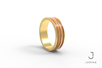 Prstene - žlté zlato - PRIME OLIVA - 9884706_