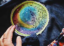 Topy - Planeta záplatová I/ dámska blúzka, veľ.36 - 9886041_