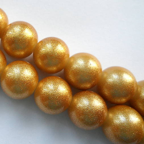 Gold Powder Metallic 12mm-1ks (zlatá)