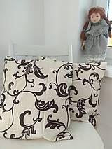 Úžitkový textil - Závesy hnedý orient - 9887454_