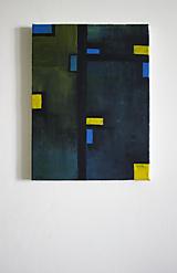 Obrazy - °stromy° /abstraktná maľba na plátne - akryl/ - 9886624_