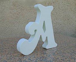 Tabuľky - Polystyrénové písmená hrúbka 3 cm - 9886386_