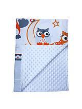 Textil - Detská deka Sovičky - 9886122_