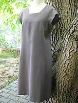 Ľanové šaty nevšedné :)