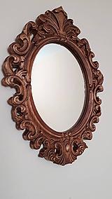 Zrkadlá - Barokové drevené zrkadlo - 9886223_