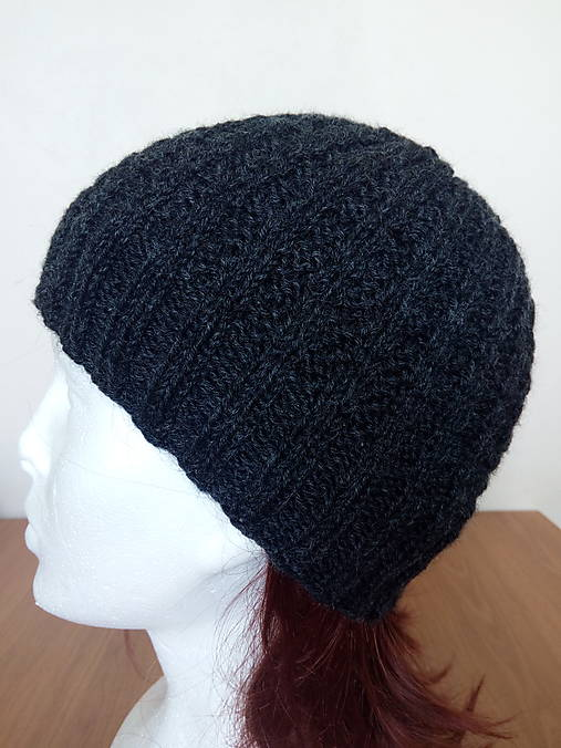 cdd8e74f2 Pánska čiapka - 100% vlna / Dantex - SAShE.sk - Handmade Doplnky