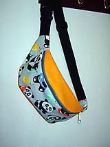 Detské tašky - ľadvinka pandy 2 - 9886305_
