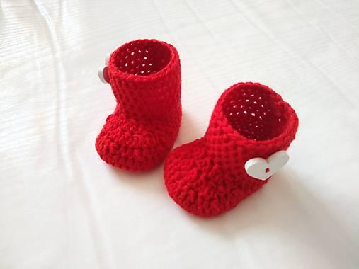 7f44d32c73 Červené čižmičky   weronyk - SAShE.sk - Handmade Topánočky