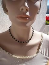 - náhrdelník z Onyxu matného-chirurgická oceľ - 9886315_