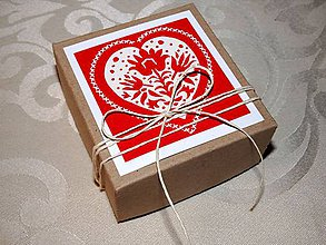 Krabičky - Krabička na darček - 9890784_