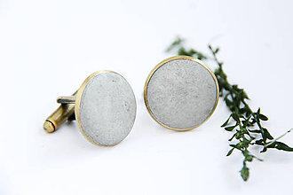 Šperky - Betónky gombičky - 9891693_