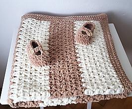 Textil - Deka pastelová - 9890937_
