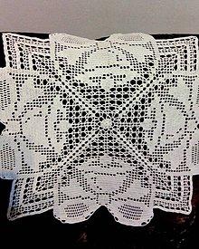 Úžitkový textil - Prestieranie-dečka-vianočné zvončeky - 9891760_