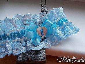 Bielizeň/Plavky - Svadobný podväzok pre nevestu III. - 9888512_
