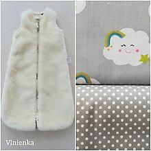 Textil - Spací vak pre deti a bábätká ZIMNÝ 100% MERINO na mieru - 9888501_