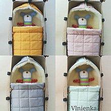 Textil - RUNO SHOP fusak pre deti do kočíka 100% ovčie runo MERINO TOP super wash ELEGANT Rainbow - 9891173_