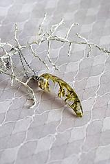 Náhrdelníky - Náhrdelník Drátovec zub (2510 A CHO) - 9889715_