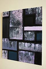 Obrazy - °hnev° /abstraktná maľba na plátne - akryl/ - 9888733_