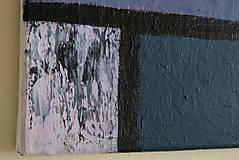 Obrazy - °hnev° /abstraktná maľba na plátne - akryl/ - 9888738_
