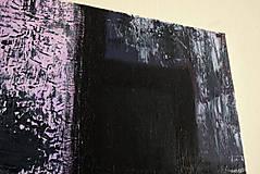 Obrazy - °hnev° /abstraktná maľba na plátne - akryl/ - 9888742_