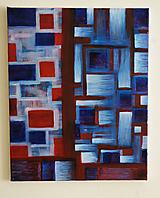 Obrazy - °červená obloha° /abstraktná maľba na plátne - akryl/ - 9891154_