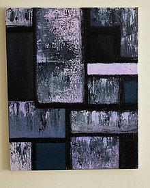 Obrazy - °hnev° /abstraktná maľba na plátne - akryl/ - 9891171_