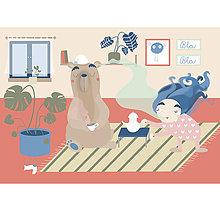 Grafika - Pyžamové rošambo - 9888659_