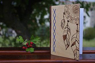 Papiernictvo - Drevený denník - 9888903_