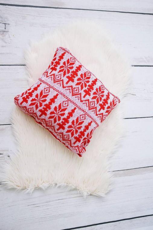 e024b4b0495 Pletený vankúš   HankineHabky - SAShE.sk - Handmade Úžitkový textil