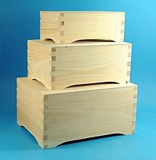 Polotovary - krabice retro na nožičkách - 9890001_