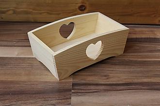 Polotovary - krabička so srdiečkom - 9890171_