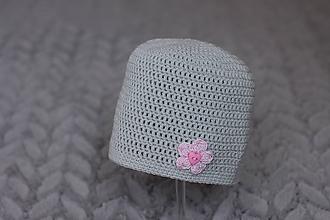 Detské čiapky - háčkovaná čiapka - 9890777_