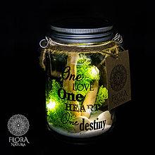 Svietidlá a sviečky - Dekoračná lampička