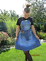 - RECY zástera  jeans - 9888745_