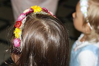 Ozdoby do vlasov - čelenka pre dievčatká - 9892015_