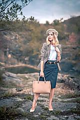 Sukne - Denimová sukňa úzka - 9891486_